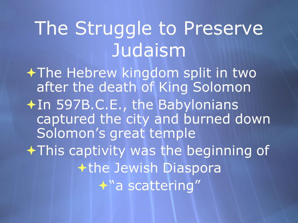 Both David and Solomon  Laid the foundation of a strong Hebrew kingdom that lasted more than:  400 years.