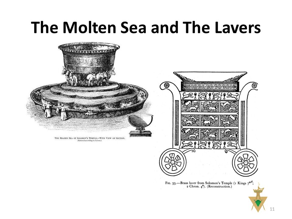 The Molten Sea and The Lavers 11