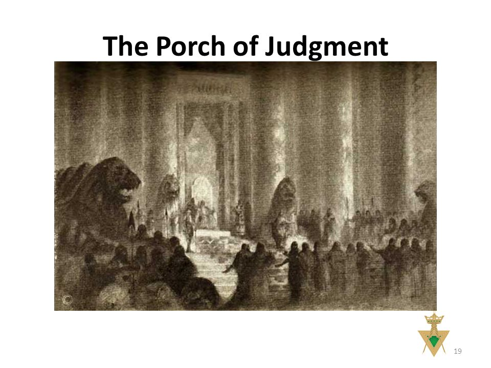 The Porch of Judgment 19