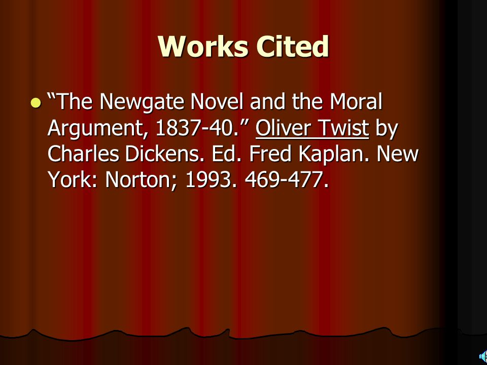 Morals Dickens dissociation from the Newgate writers Dickens dissociation from the Newgate writers Objects to being unfairly charged with having writt
