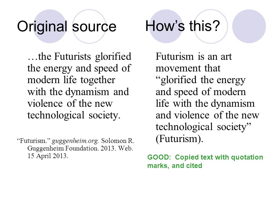 Original source …the Futurists glorified the energy and speed of modern life together with the dynamism and violence of the new technological society.