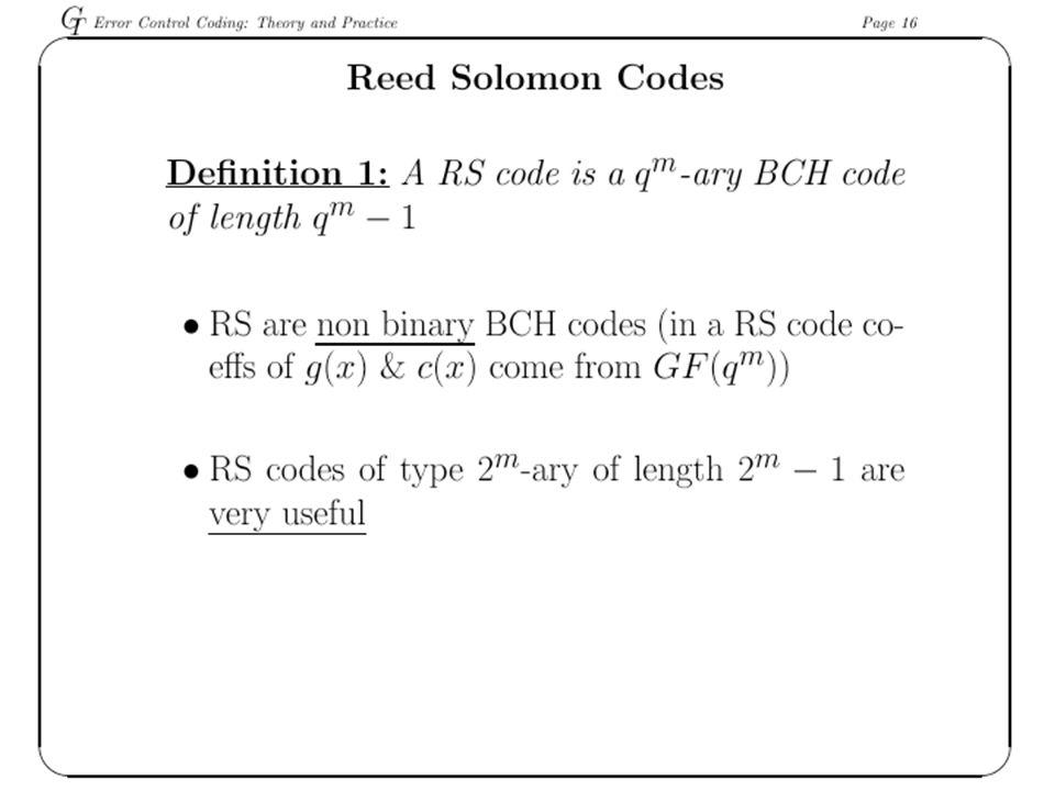 RS Encoder 33k bytes of data (e.g.