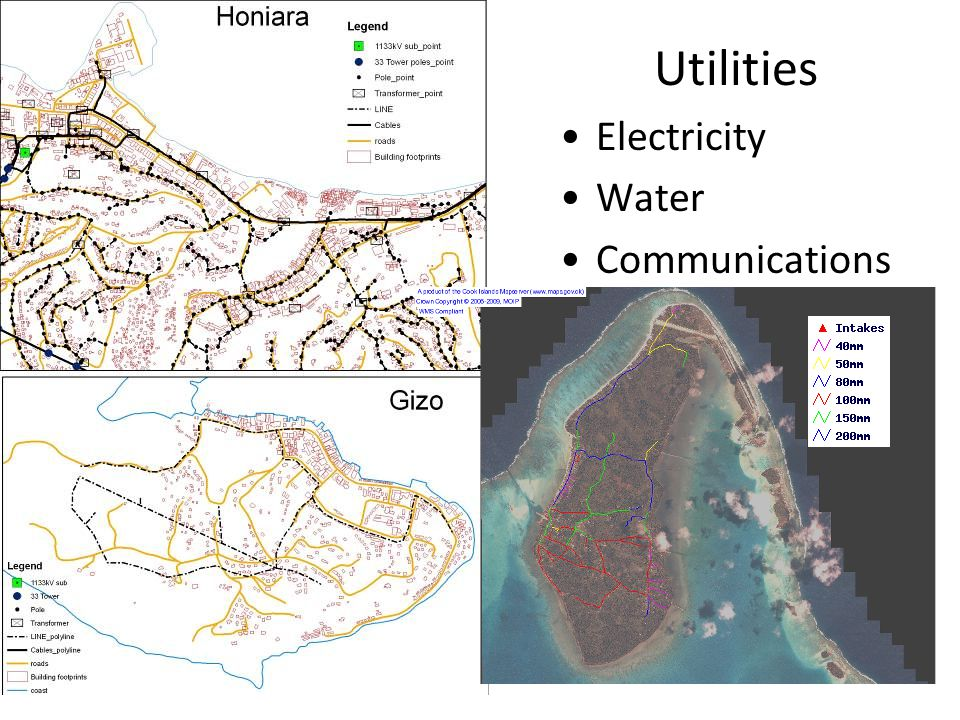Utilities Electricity Water Communications