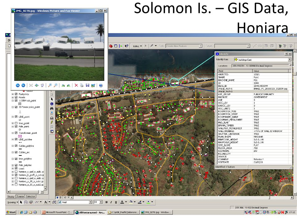 Solomon Is. – GIS Data, Honiara