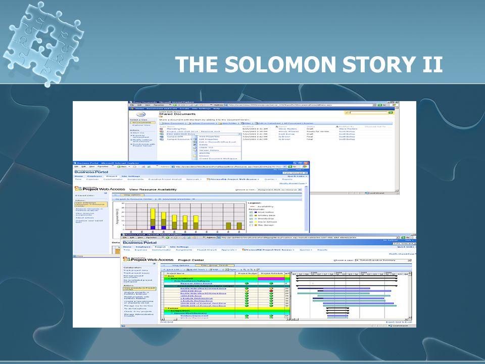 THE SOLOMON STORY II