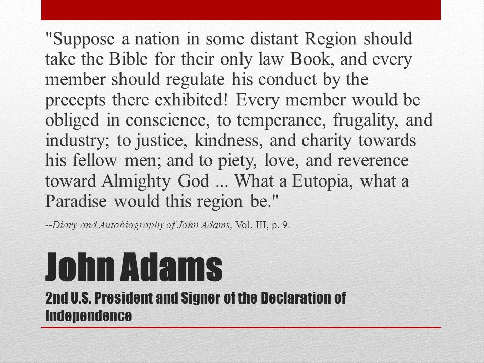 John Adams 2nd U.S.