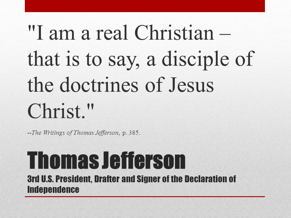 Thomas Jefferson 3rd U.S.
