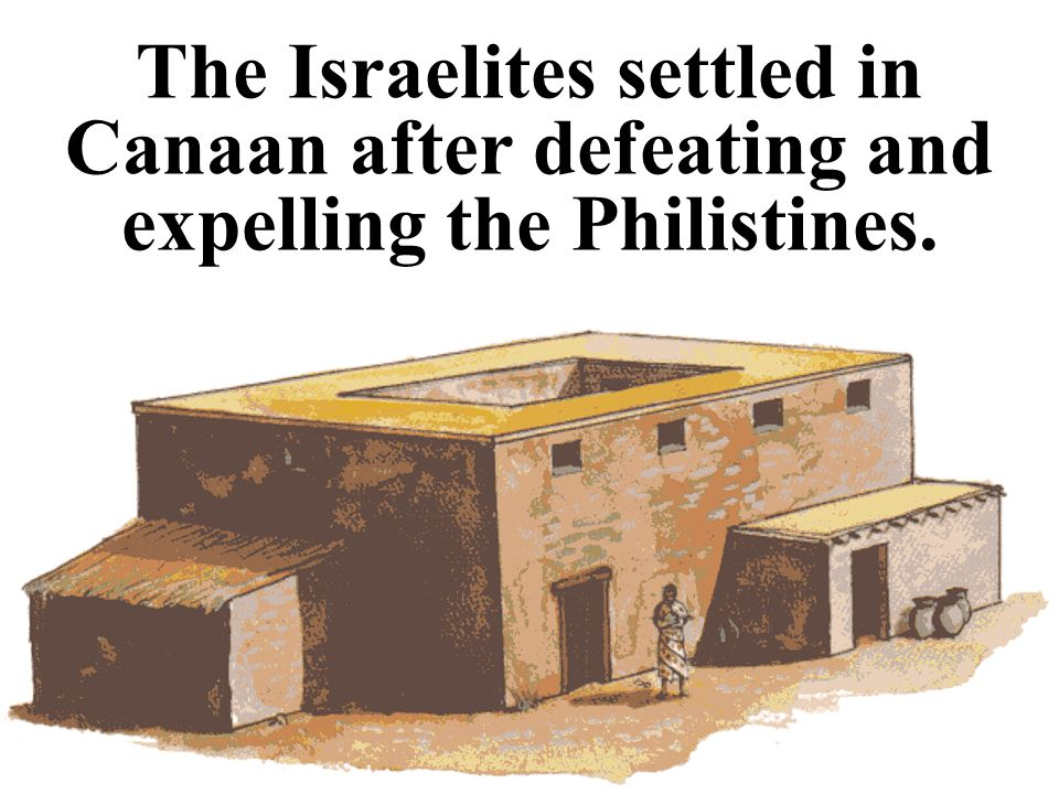 The Israelites quickly occupied the land. [Image source: http://www.bible.org/docs/ot/character/joshua/josh-06.htm]