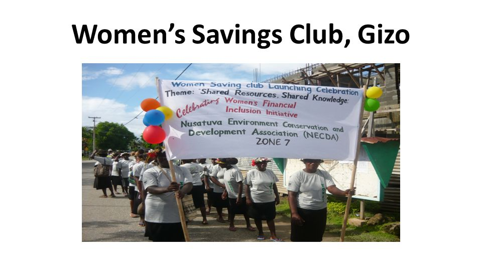 Women's Savings Club, Gizo
