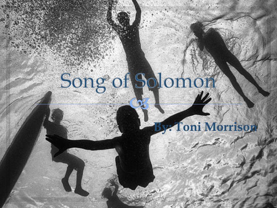 By: Toni Morrison