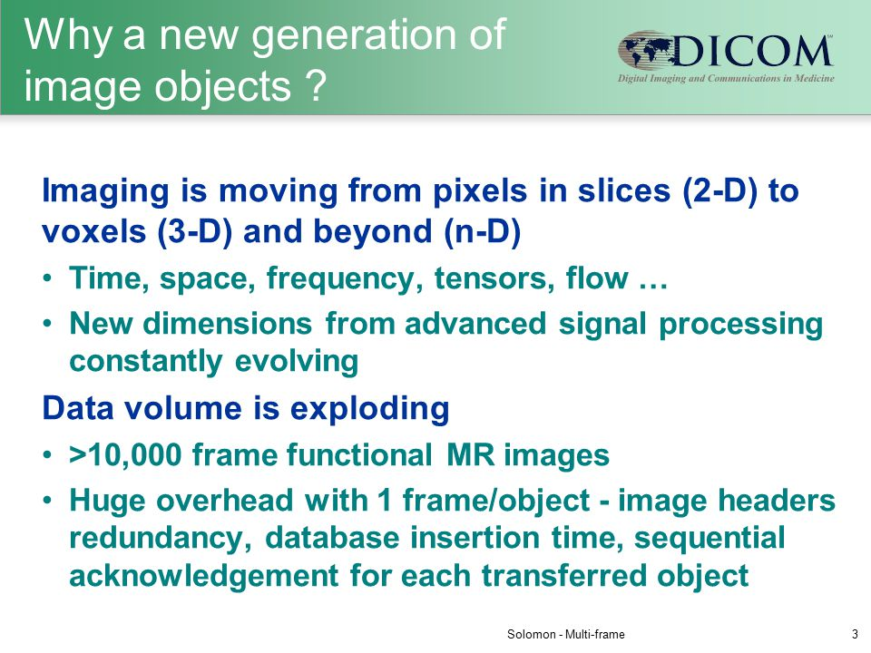 Why a new generation of image objects .