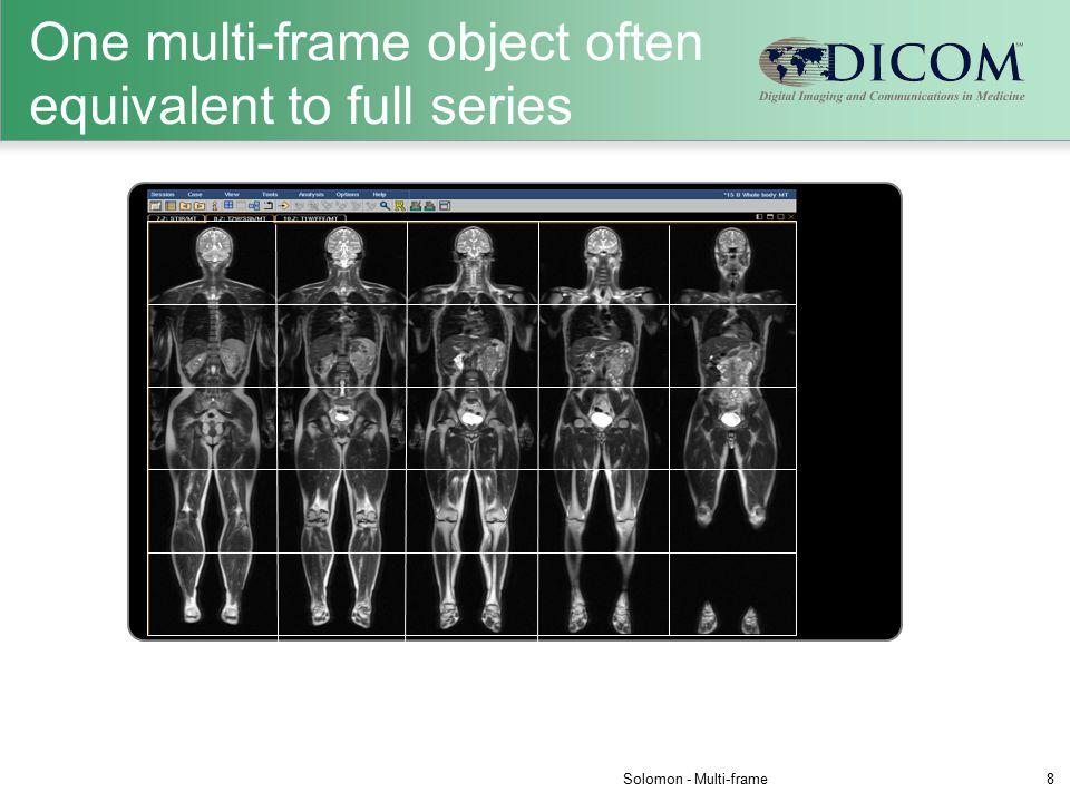 One multi-frame object often equivalent to full series Solomon - Multi-frame8