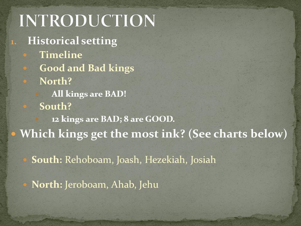 A.Elijah Battles against Ahab and Baal B. The miracles of Elijah and Elisha a.
