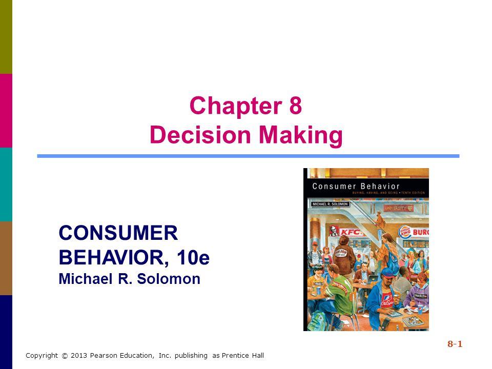 8-52 Copyright © 2013 Pearson Education, Inc.