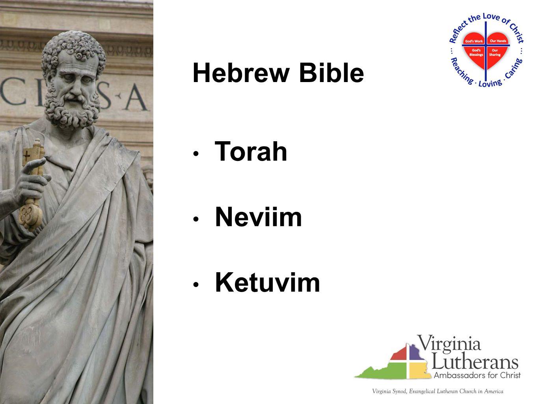 Torah Neviim Ketuvim Hebrew Bible