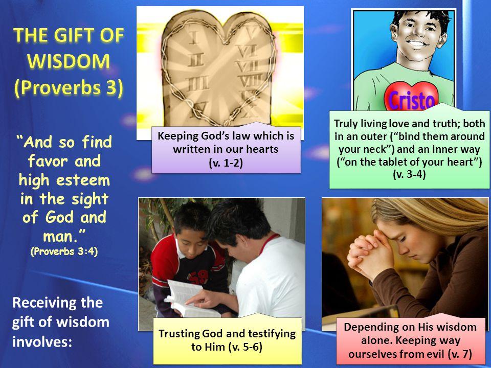PRESENT BLESSINGS Physical health.Material abundance.