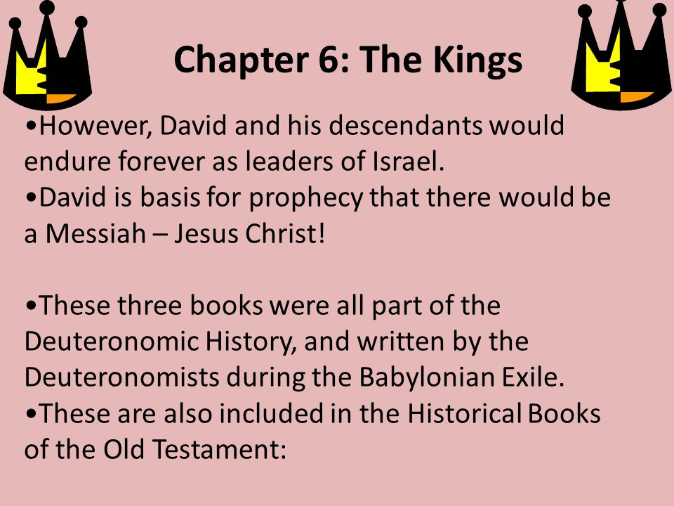 2 biblical incidents that tell of Saul meeting David: 1.David coming to play the harp for Saul to lighten his dark moods.