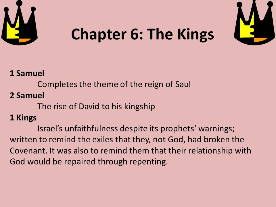 David and Saul Video (8 minutes) Video Saul becomes jealous and tried to kill David.