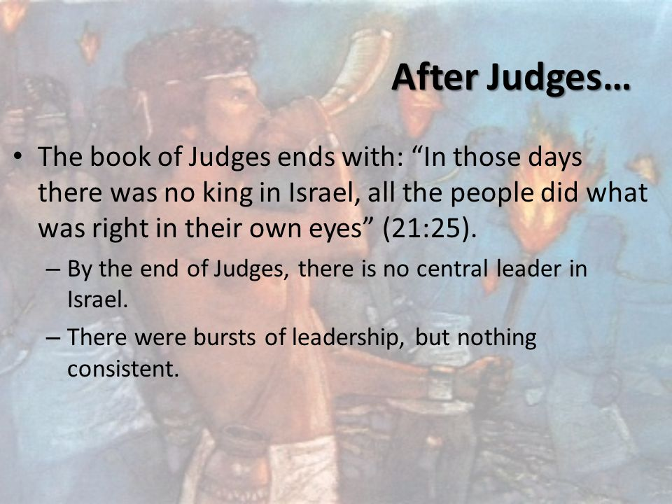 Israel has to become a nation because… – Things kept going downhill for the people of Israel, who were morally and spiritually tested.