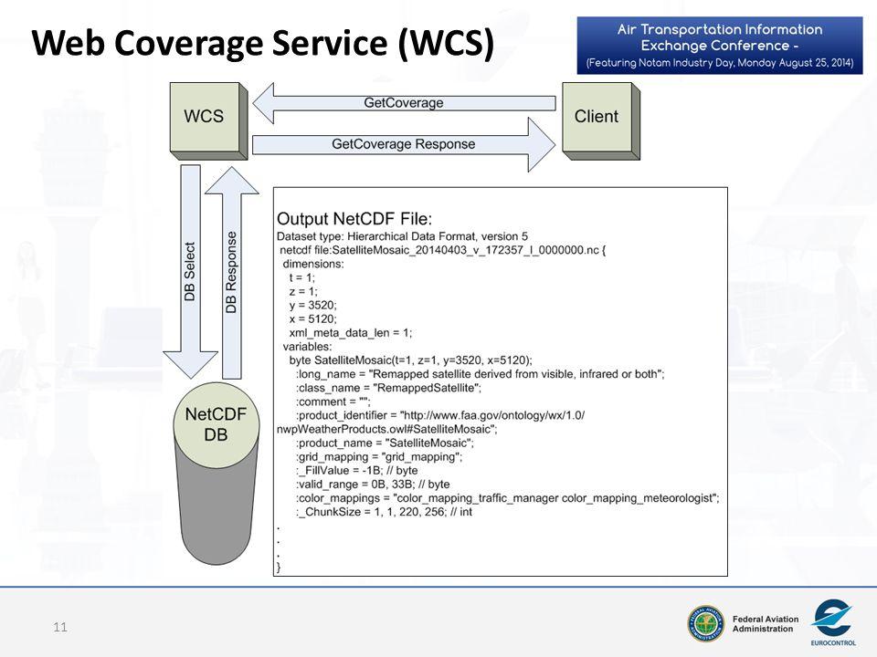 Web Coverage Service (WCS) 11