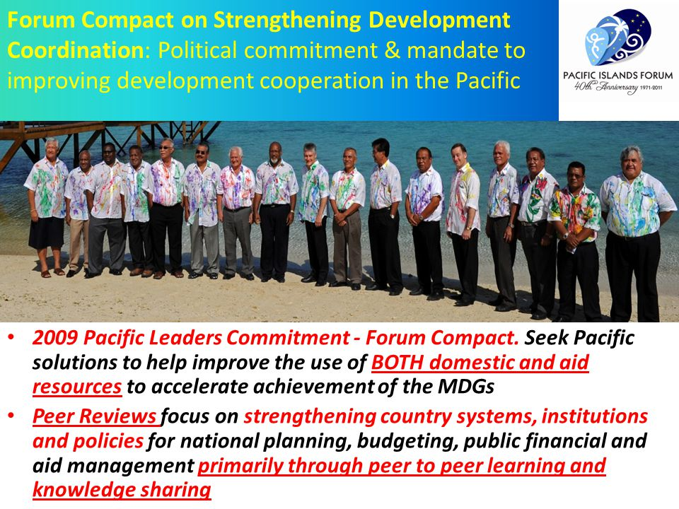 2009 Pacific Leaders Commitment - Forum Compact.