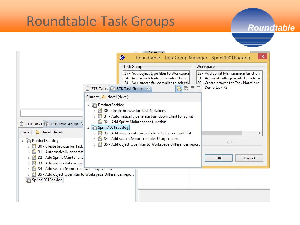 Roundtable Task Groups