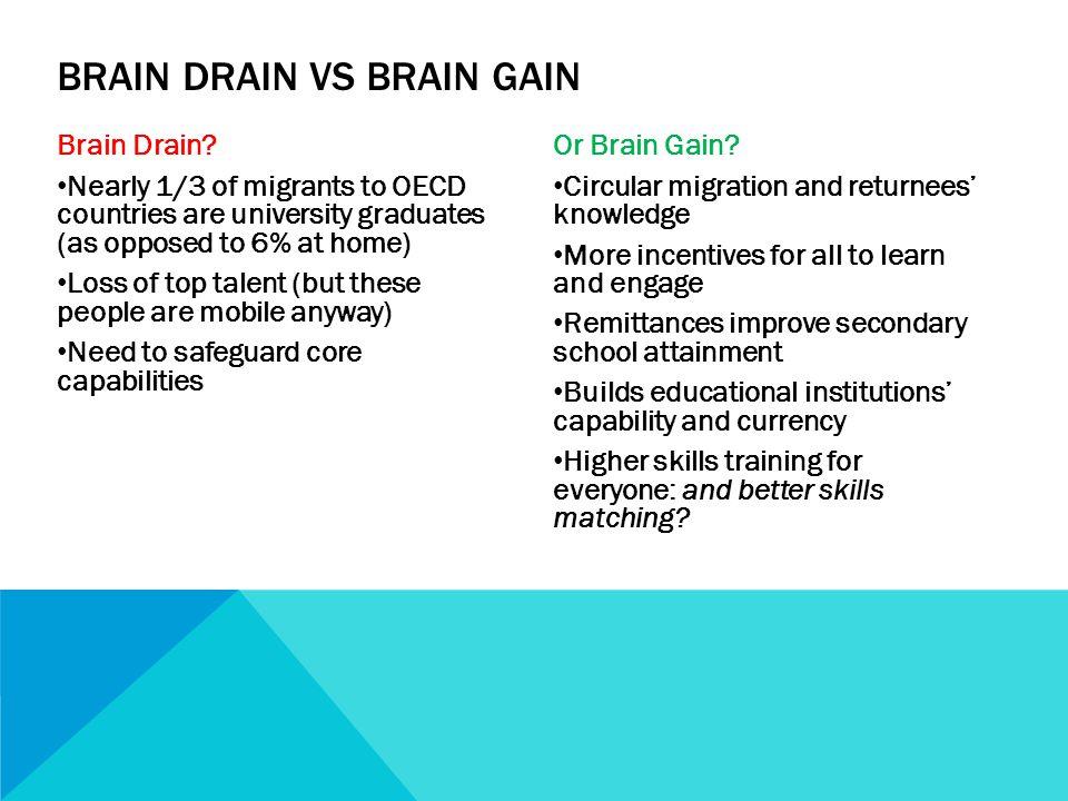 Brain Drain.