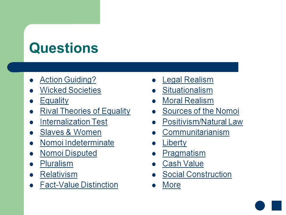 Questions Action Guiding.