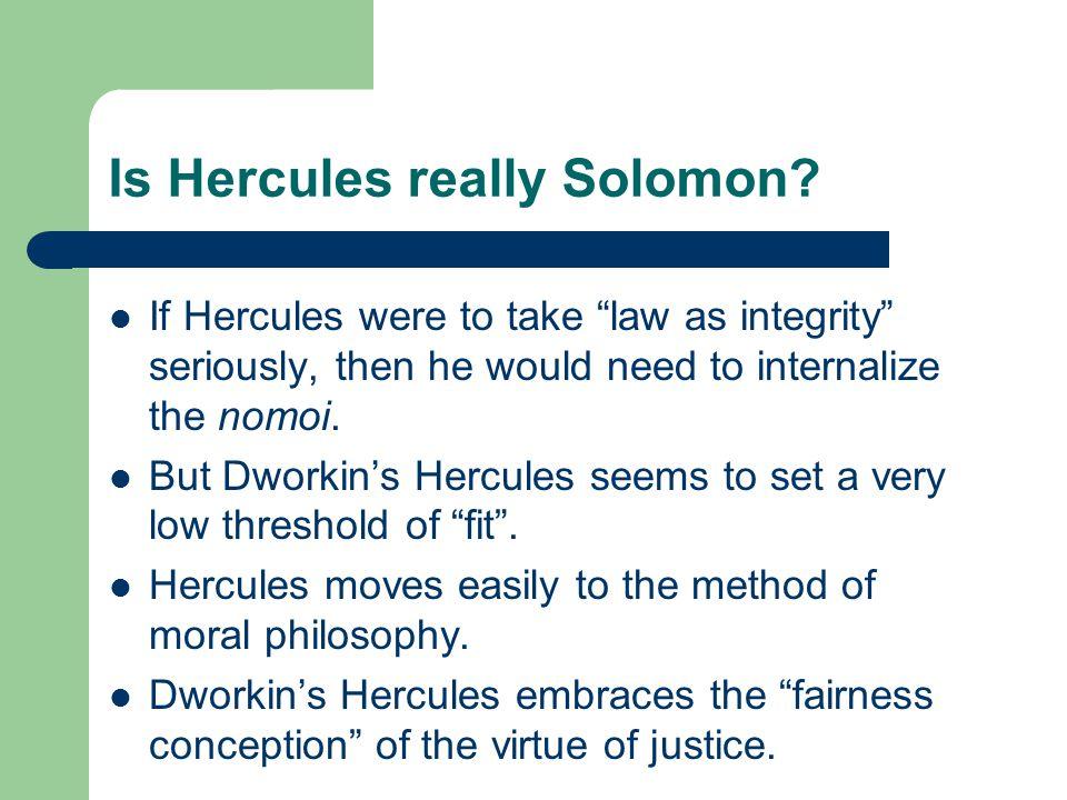 Is Hercules really Solomon.