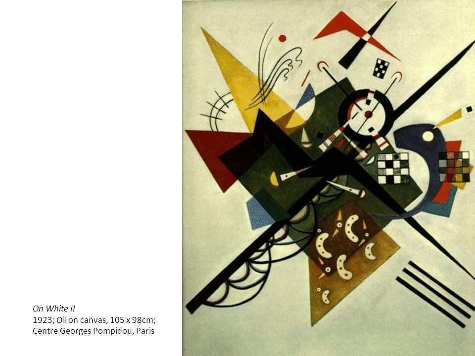 On White II 1923; Oil on canvas, 105 x 98cm; Centre Georges Pompidou, Paris