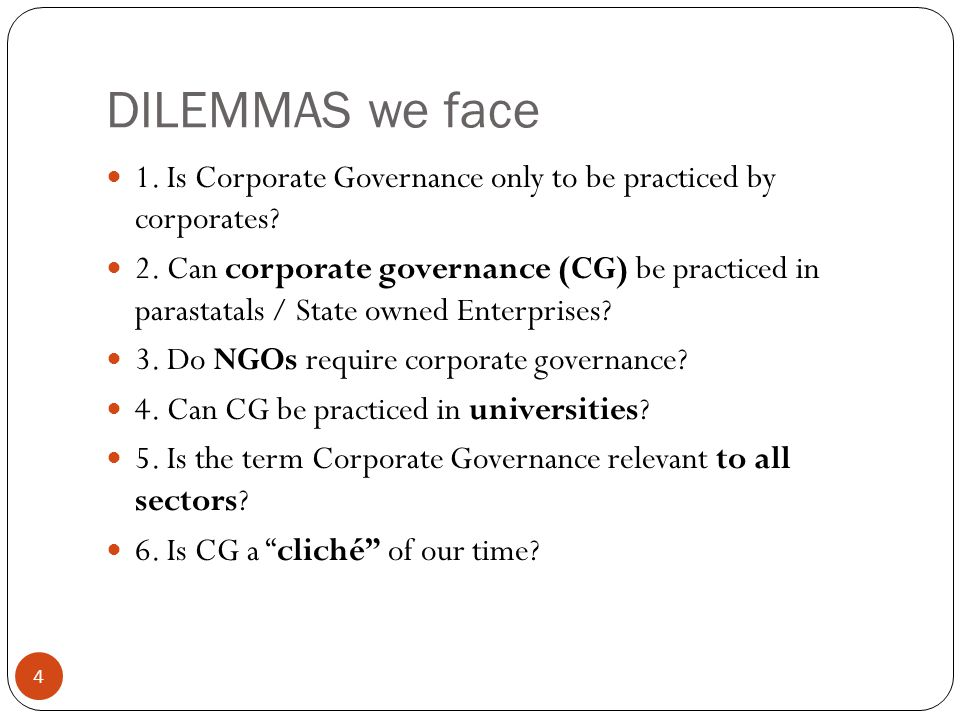 Sources of good corporate governance 15 UK's CG Codes (Apply or explain) Cadbury Report (1992) Greenbury Report (1995) Hampel Report (1998) Turnbull Report (1999, 2005) Higgs Report (2003) Smith Review (2003) UK Combined Code on Corporate Governance (2008)