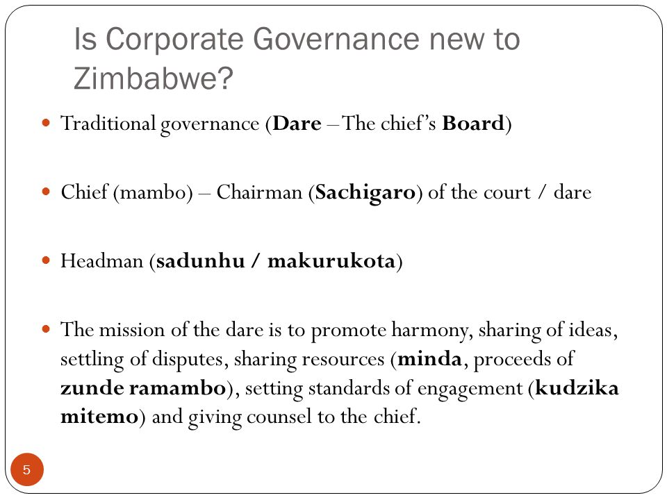 FOCUS OF CORPORATE GOVERNANCE 6 Interactions, expectations and perceptions of internal and external stakeholders of the board (LEADERSHIP).