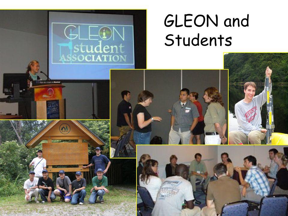 GLEON and Students