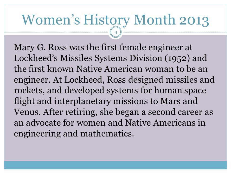 Women's History Month 2013 Grace Murray Hopper Computer Scientist 15