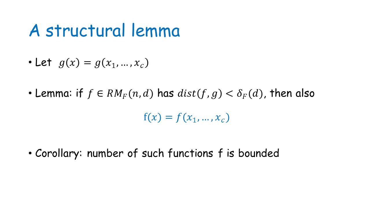 A structural lemma