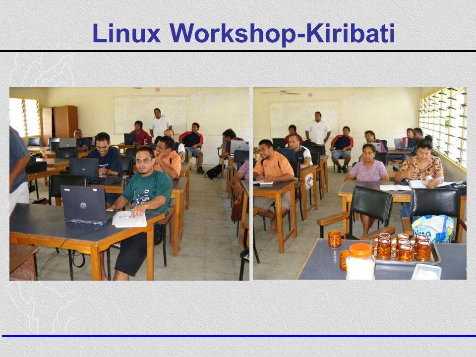 Linux Workshop-Kiribati