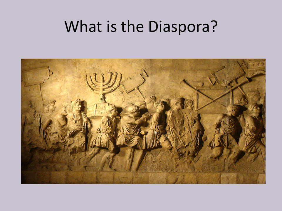 What is the Diaspora?