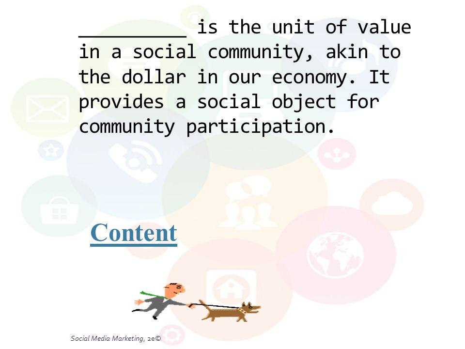 Social Media Marketing, 2e© 6-25