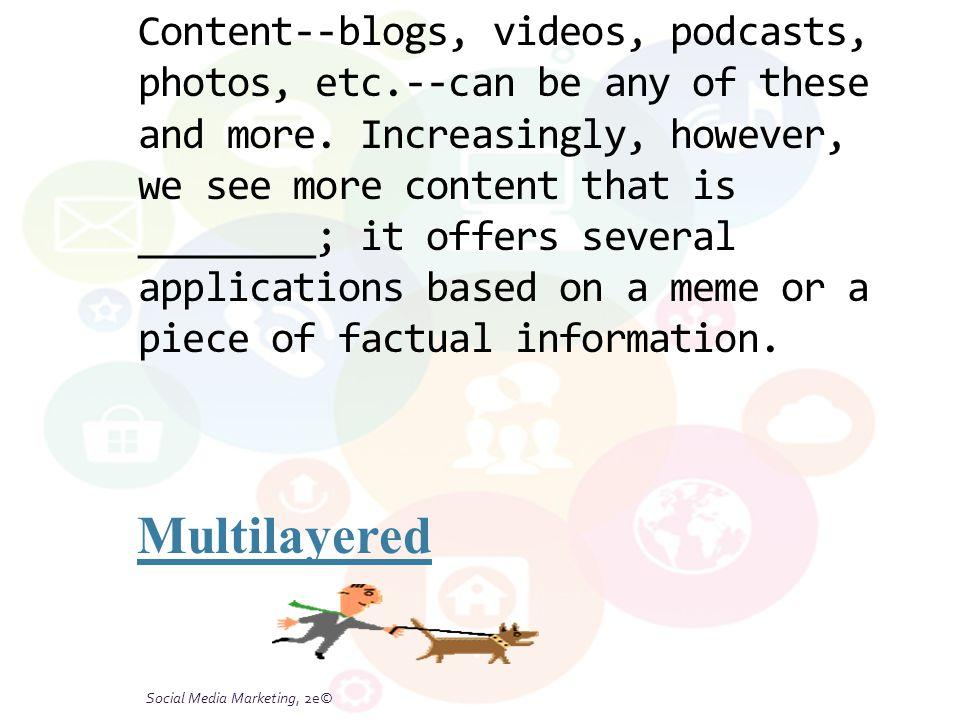 Social Media Marketing, 2e© 6-26