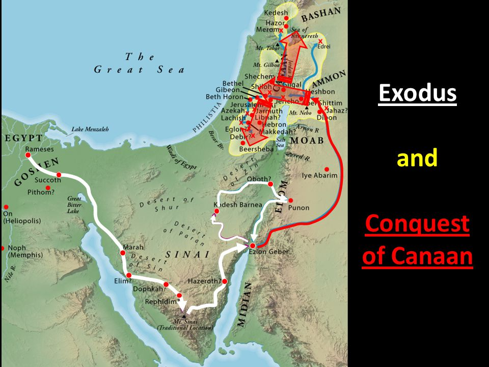 Exodus and Conquest of Canaan