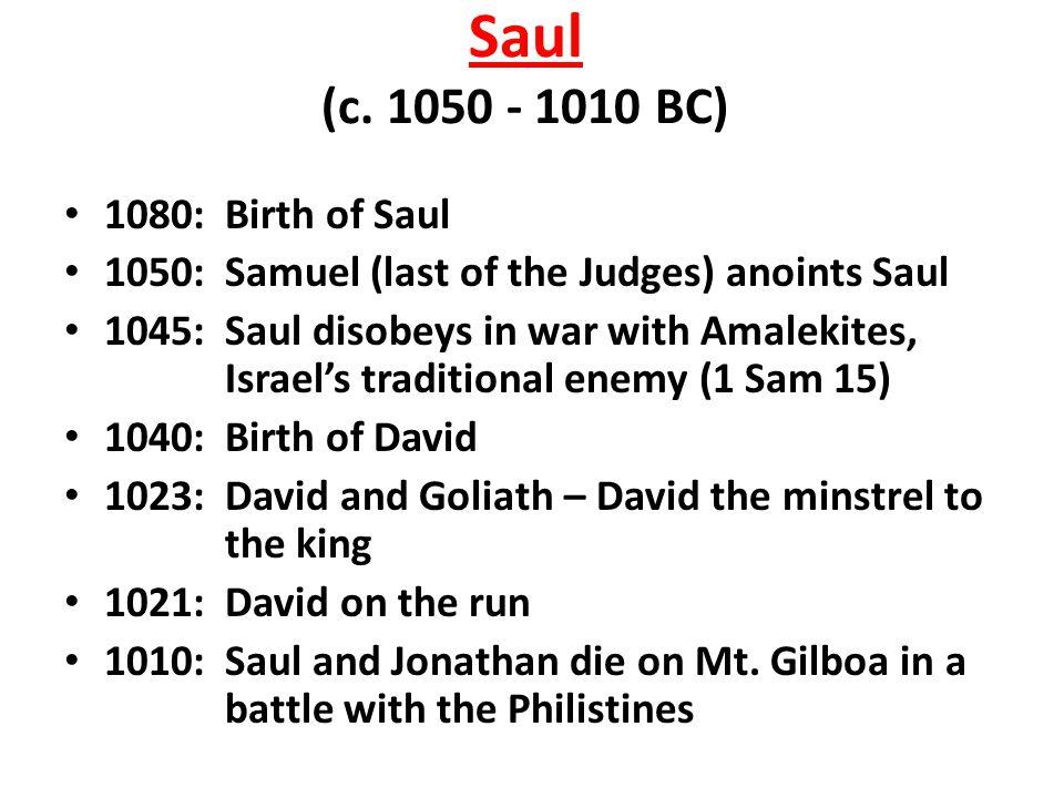 Saul (c.