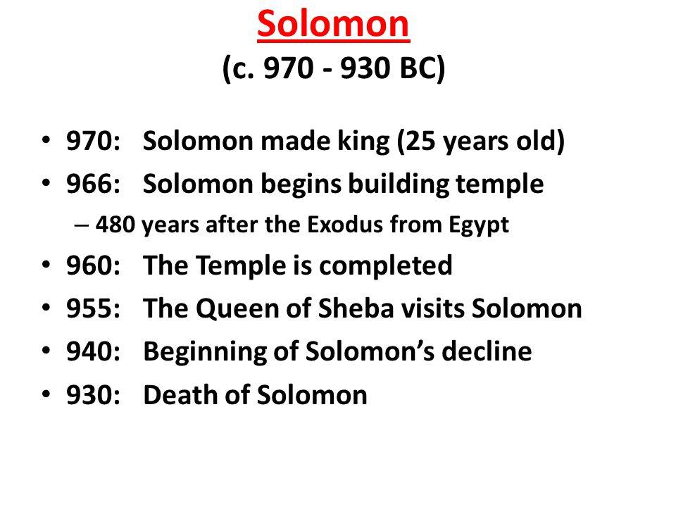 Solomon (c.