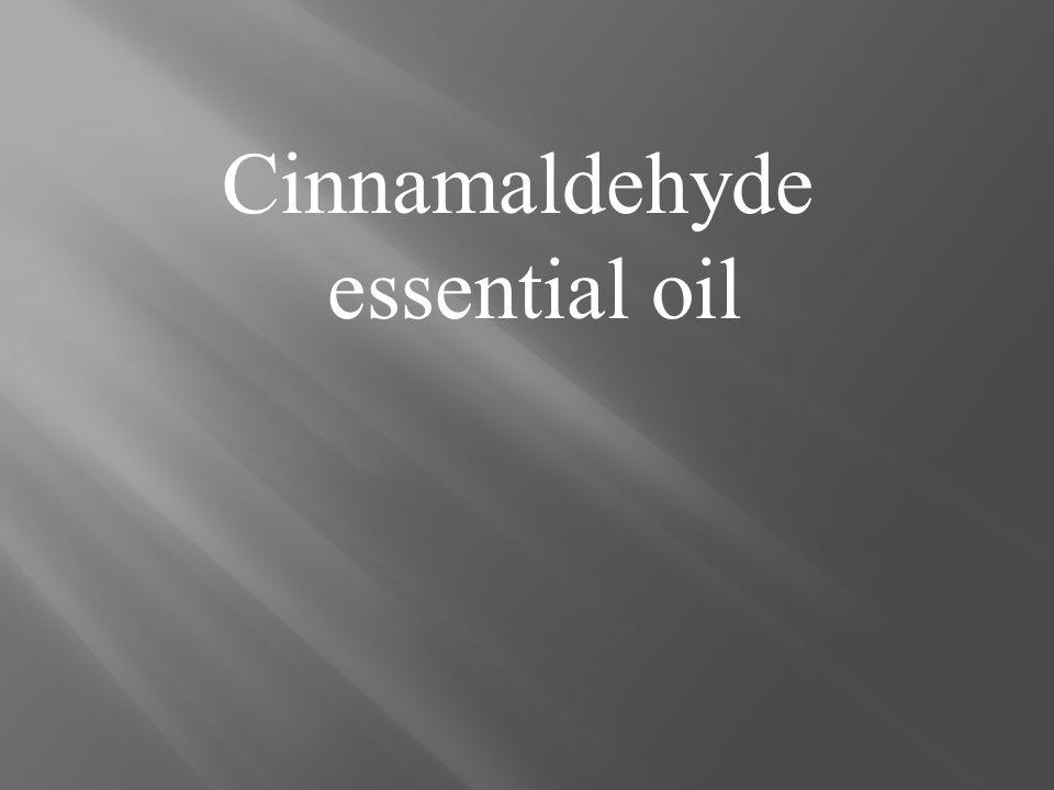 Cinnamaldehyde essential oil