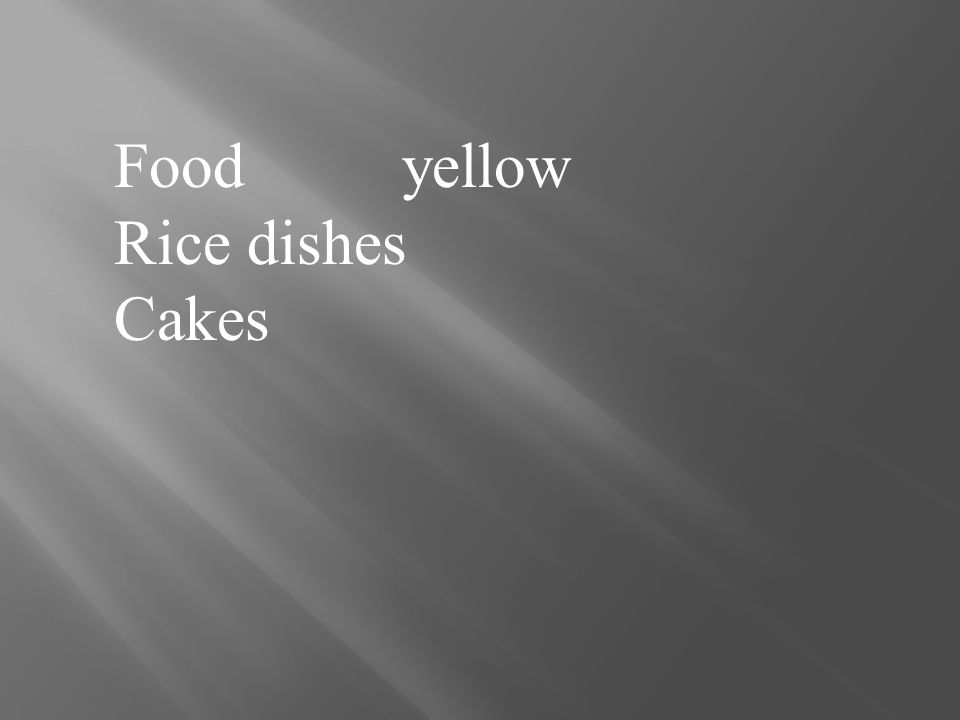 Foodyellow Rice dishes Cakes