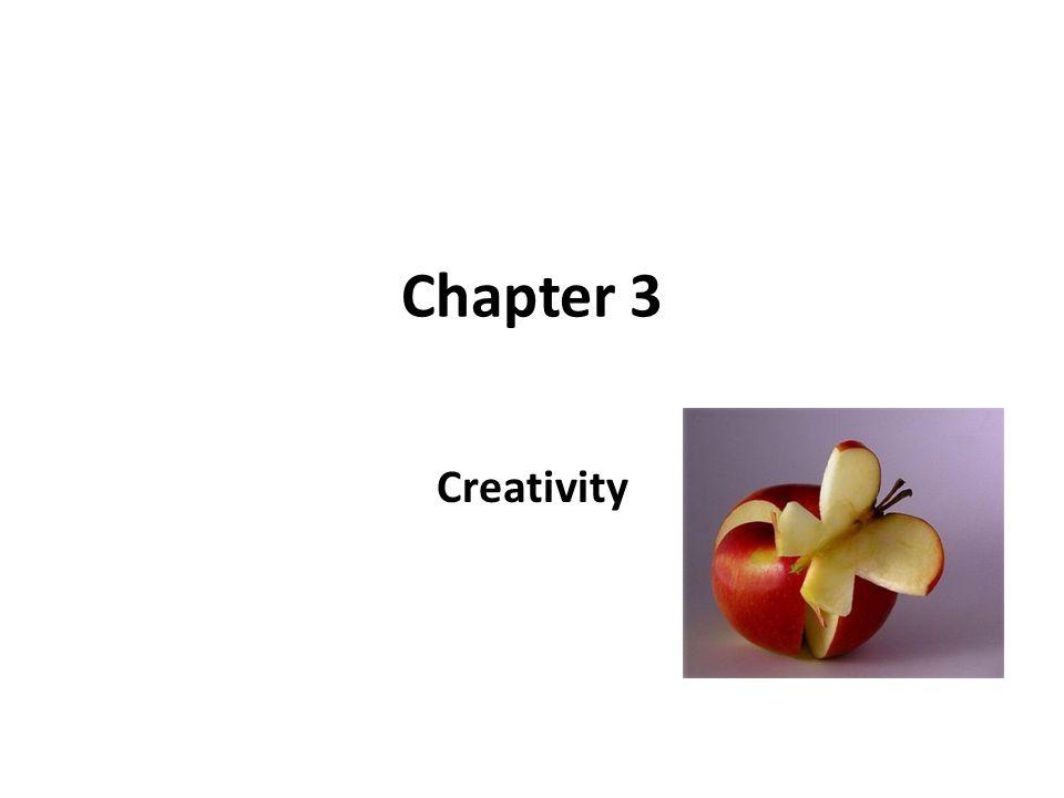 Chapter 3 Creativity
