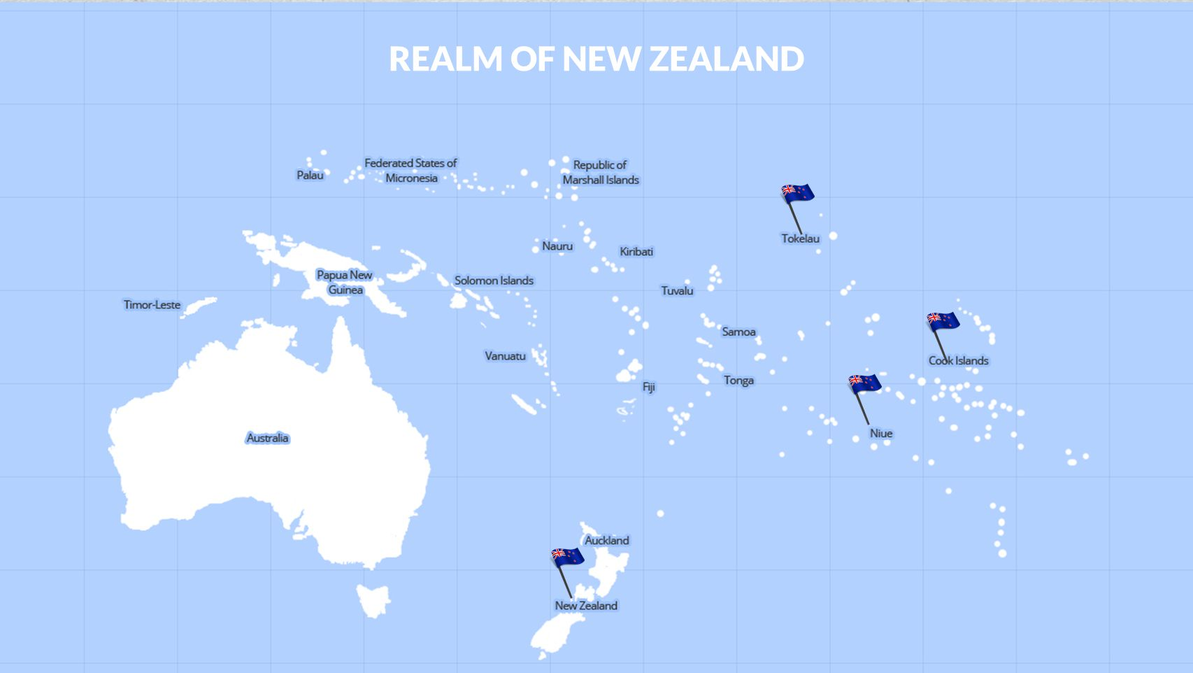 REALM OF NEW ZEALAND