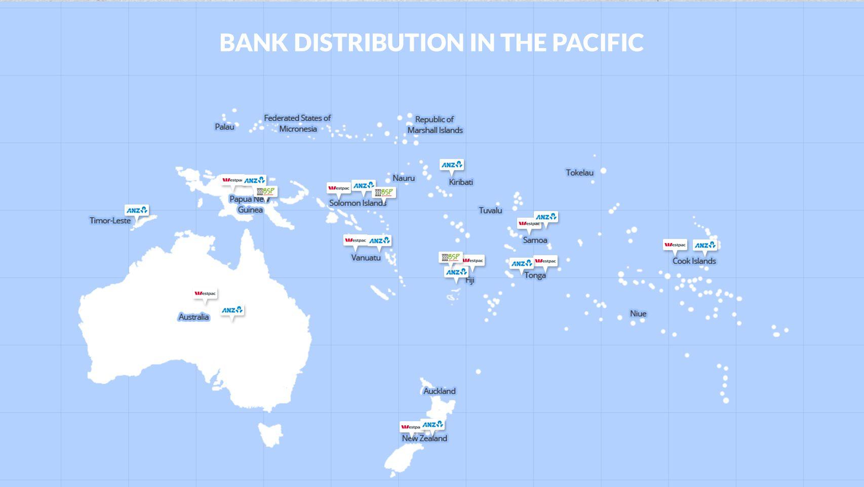 OPPORTUNITIES World Bank RFI Samoa, Tonga, Solomon Islands, Vanuatu Cook Islands Full interoperability Link to NZ Payments system