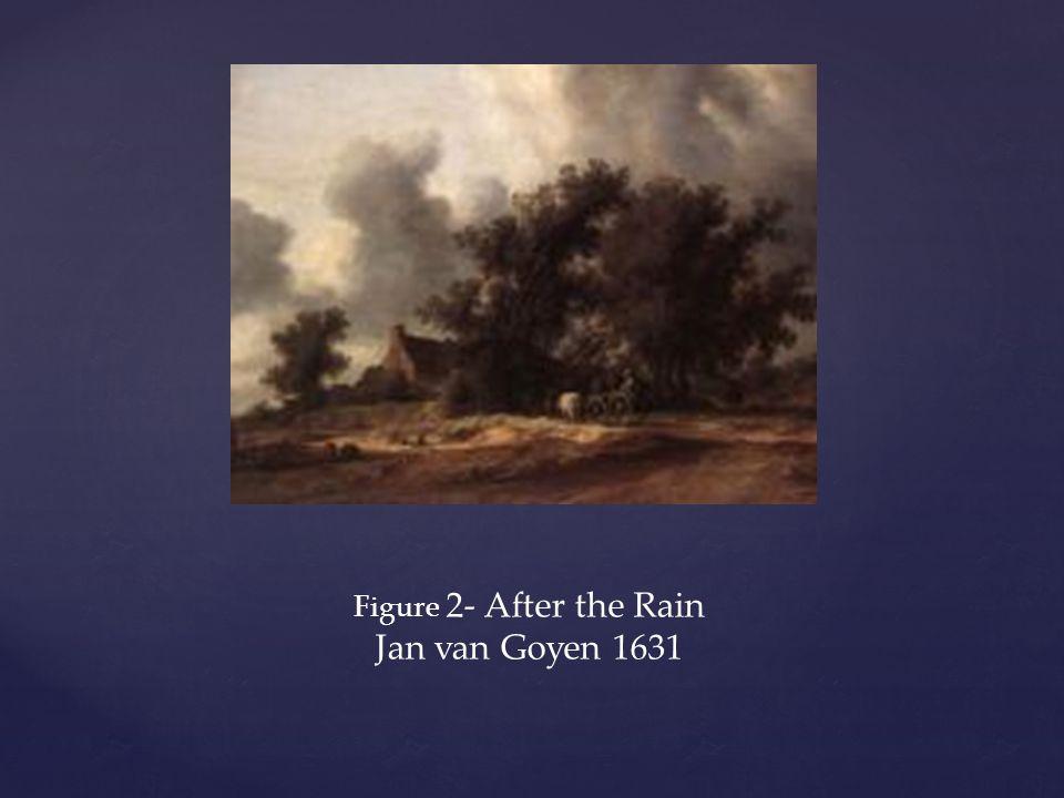 Figure 2- After the Rain Jan van Goyen 1631