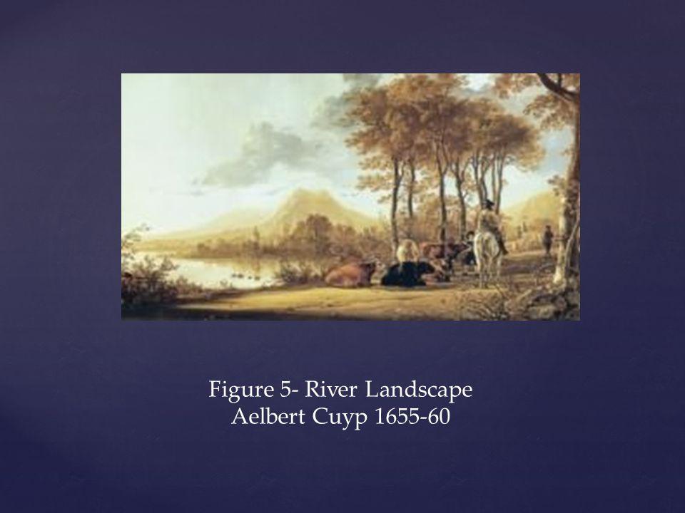Figure 5- River Landscape Aelbert Cuyp 1655-60