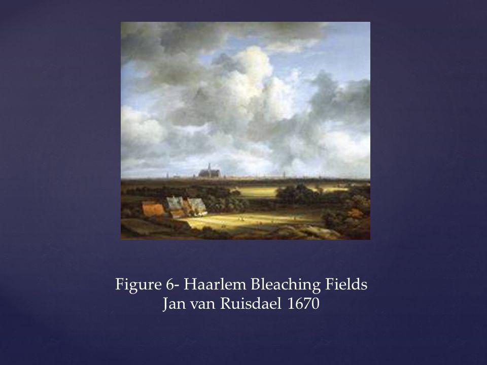 Figure 6- Haarlem Bleaching Fields Jan van Ruisdael 1670